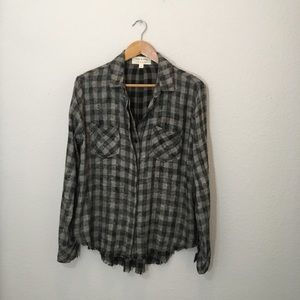 ANTHROPOLOGY CLOTH & STONE Button Down Long Sleeve